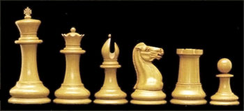 Jacques Cook Staunton Chess Set